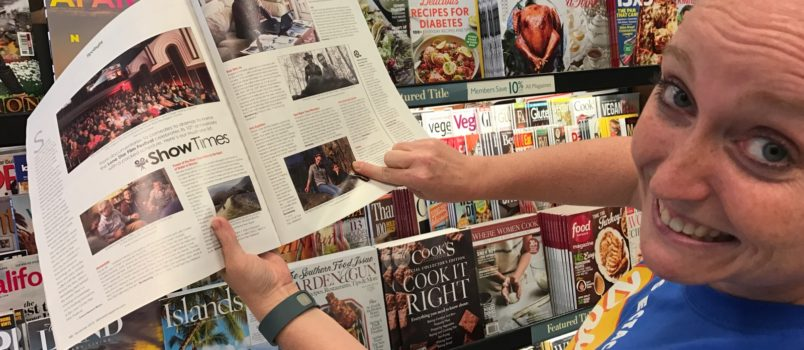 Laura Beth Davidson discovers Aria in 360 West Magazine.